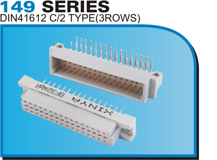 149 SERIES DIN41612 C/2 TYPE(3ROWS)
