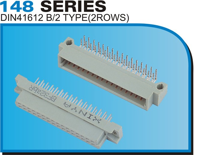 148 SERIES DIN41612 B/2 TYPE(2ROWS)