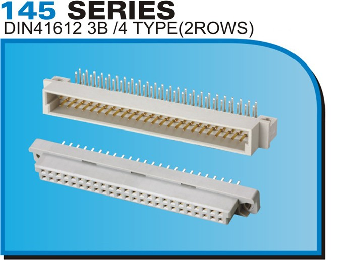 145 SERIES DIN41612 3B/4 TYPE(2ROWS)